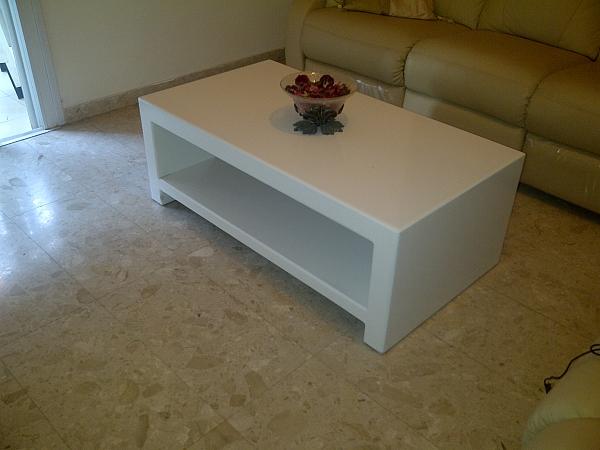 שולחן סלון אפוקסי דגם פאולינה - 1