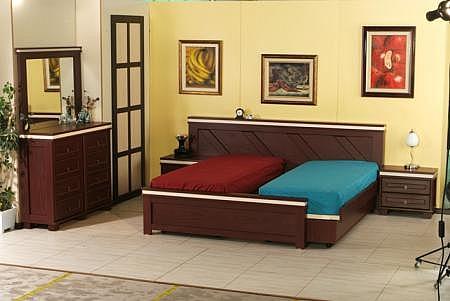 חדר שינה קומפלט מיטה יהודית דגם פרוייקה - 1