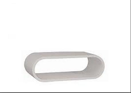 שולחן סלון אפוקסי מעוגל דגם ליה - 1