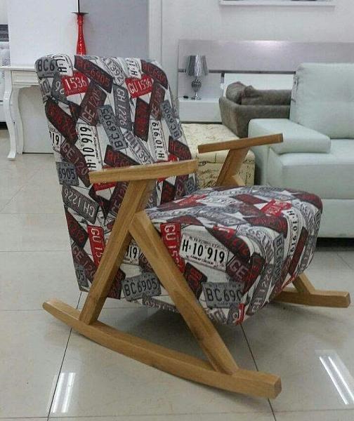 כורסא ידיות עץ דגם פאסיפיק - 1