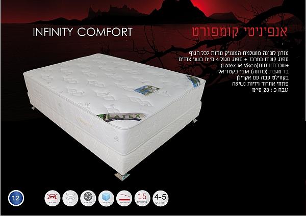 מזרון לשינה מושלמת דגם אינפיניטי קומפורט - 1