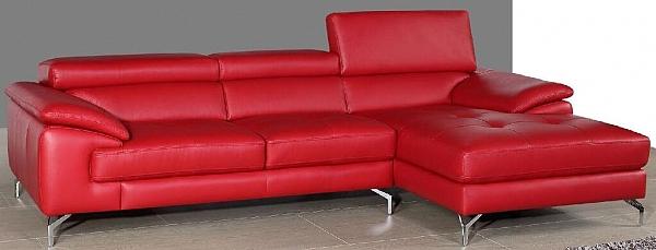 סלון \ מערכת ישיבה פינתית מדמוי עור דגם תמנון - 1