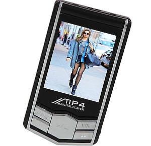 נגן MP4 כולל זכרון בנפח 8GB - 1