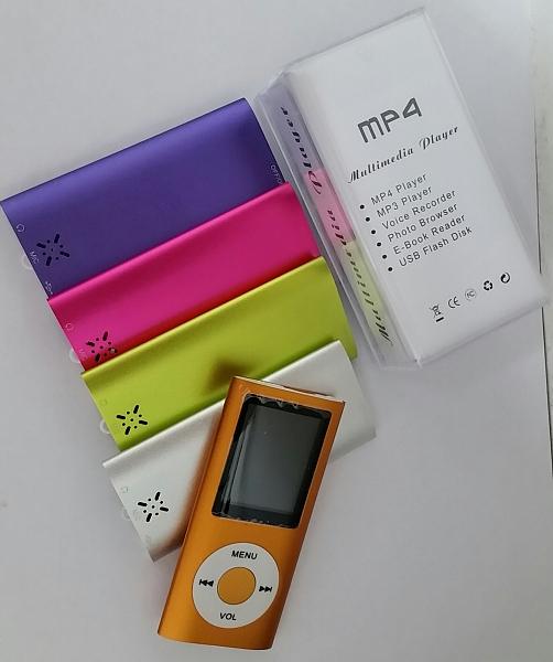 נגן MP4 עם רמקול חיצוני נפח 8GB - 1