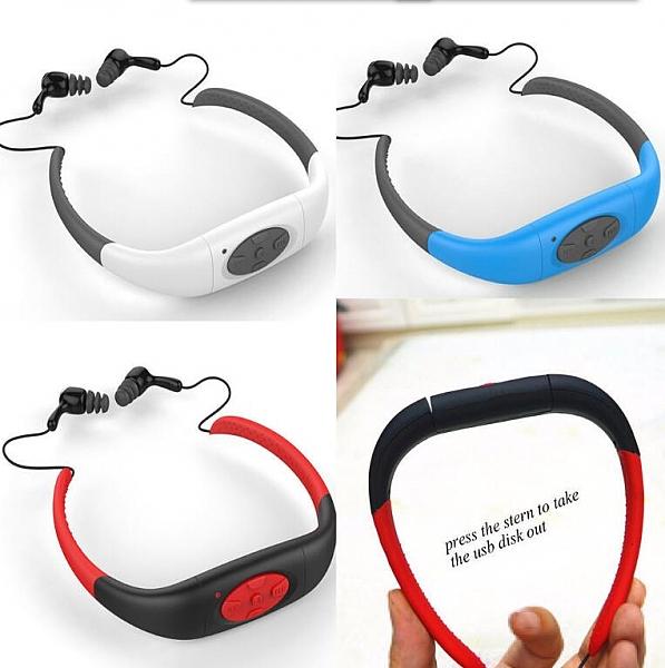 נגן MP3 אטום למים לשחיה ופעילויות ספורט - 2