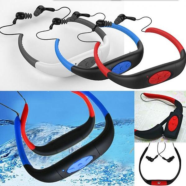 נגן MP3 אטום למים לשחיה ופעילויות ספורט - 5