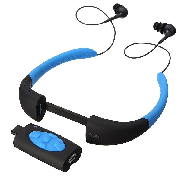 נגן MP3 אטום למים לשחיה ופעילויות ספורט - 3