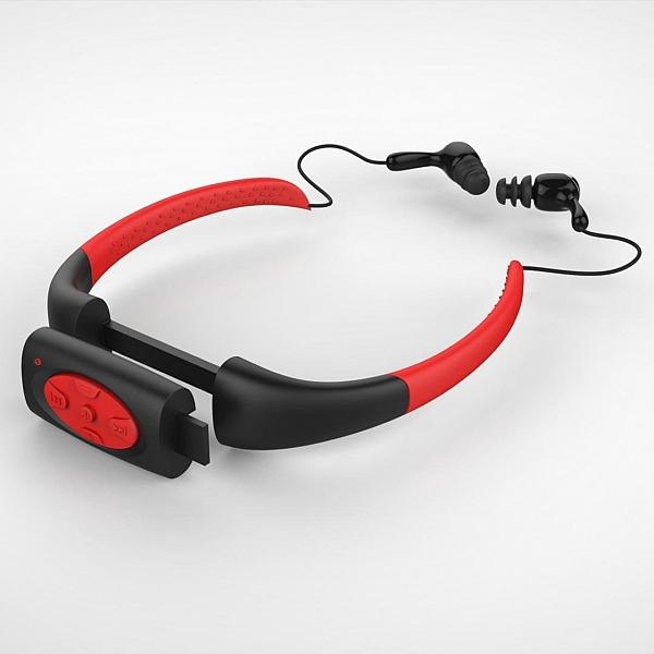 נגן MP3 אטום למים לשחיה ופעילויות ספורט - 4