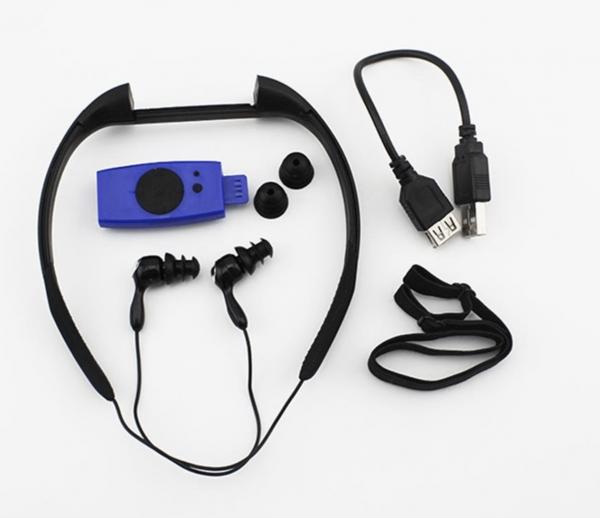 נגן MP3 אטום למים לשחיה ופעילויות ספורט - 1
