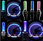 זוג פנסי/מנורות בטיחות לגלגל אופניים