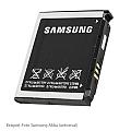 סוללה  ל SAMSUNG AB603443CU 1000MAH  SGH-G800 / L870 / S5230