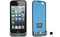 כיסוי סוללה לאייפון 5  2200Mah בצבעים שונים IPHONE 5 5S