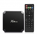סטרימר אלחוטי X96 mini Android TV BOX 7.1 OS Smart TV Box 2GB 16GB Amlogic S905W Quad Core 2.4GHz WiFi IPTV