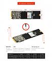 כונן SSD פנימי KINGSPEC NGFF  M.2 512GB