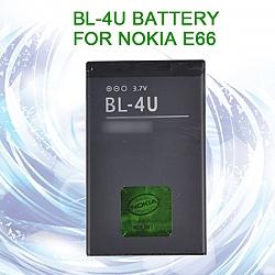 סוללה תואמת ל טלפון סלולרי Nokia E66 3120 Classic 6600 8800 E75 3120C 1000MAH
