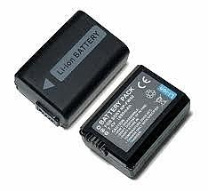 סוללה מקורית ל מצלמה SONY Alpha A3000 A5000 A6000 NP-FW50 7.2v 1080mAh