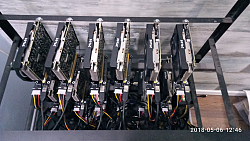מחשב כרייה למטבעות דיגיטלים יחZOTAC 1050TI*12