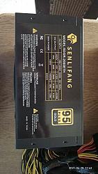 ספק כוח ל מחשב נייח SENLIFANG 2000w 95+ gold