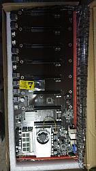 לוח אם ל מינינג קומפלת T37 Celeron® CPU 1037U 128GB MSATA SSD DDR3 8GB 1600MHZ