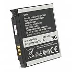 סוללה מקורית ל טלפון סלולרי SAMSUNG GT-M8800,GT-M8800 Pixon,Pixon,S3600C,SGH-F268,SGH-F330,SGH-F338,SGH-F490,SGH-G600,SGH-G600i,SGH-G608,SGH-J630,SGH-J638 880MAH