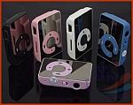 נגן MP3 עם קליפס בגימור מראה