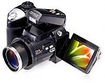 "מצלמת וידאו DC600 Digital Camera 2.4"" LTPS TFT LCD 270 Degree Rotation 8 X Digital Zoom PC"