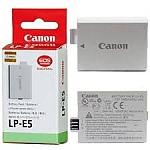 סוללה מקורית  ל מצלמה Canon LP-E5 LPE5 EOS 450D 500D 1000D XS T1i 1080MAH