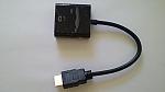 ממיר HDMI TO VGA