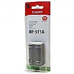 סוללה מקורית ל מצלמה Canon BP511A BP-511A BP 511A  1390mAh