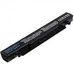 סוללה חלופית  ל מחשב נייד 4 תאים ASUS ROG ZX50 ZX50J ZX50JX GL552 GL552J GL552V GL552VW 2600MAH 4CELL