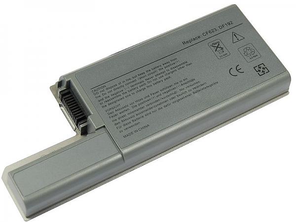 סוללה חלופית ל מחשב נייד 6 תאים Dell Latitude D531 D531N D820 D830 CF623 5200MAH - 1