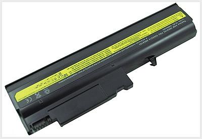 סוללה חלופית ל מחשב נייד 6 תאים  IBM Lenovo Thinkpad T40 R50 R51 R52 T42 T43 5200MAH - 1