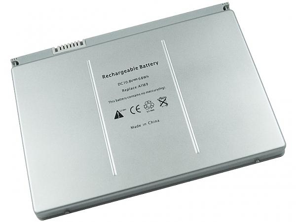 """סוללה חלופית ל מחשב נייד 6 תאים  Apple MacBook Pro A1189 17"""" A1189 5200MAH - 1"""