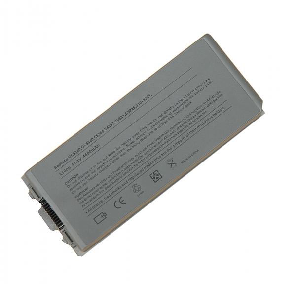 סוללה חלופית ל מחשב נייד 6 תאים  Dell Latitude D810 D840 Y4367 G5226 312-0336 6CELL 5200MAH - 1