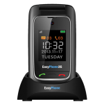 """טלפון סלולרי למבוגרים EASYPHONE 3G בעיצוב """"צדפה"""""""
