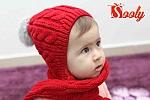 מתנה לתינוק : כובציף אדום