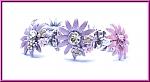 צמיד Star Flower ורוד