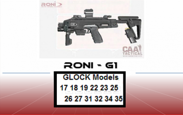 RONI לאקדח GLOCK - 1