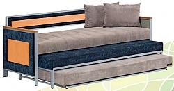 מיטת נוער נפתחת X3 מולטי בד מדי קומפורט