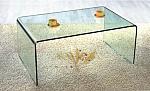שולחן סלוני זכוכית יוקרתי דגם A011
