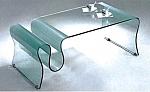 שולחן סלוני זכוכית יוקרתי דגם A061