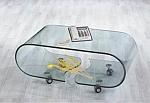 שולחן סלוני זכוכית יוקרתי דגם A082 אייטם