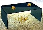 שולחן זכוכית יוקרתי דגם A011B