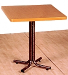 """שולחן """"גינה"""" רגל פרח 192"""