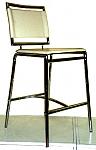כיסא בר ממתכת ברוש