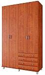ארון בגדים ארבע דלתות דגם יהלום