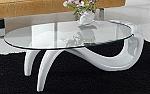 שולחן זכוכית ונציה שוקיים