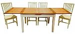 שולחן דגם גנואה אלון מבוקע