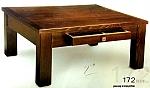שולחן סלון 172 עץ מלא