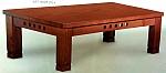 שולחן סלון 173 עץ מלא